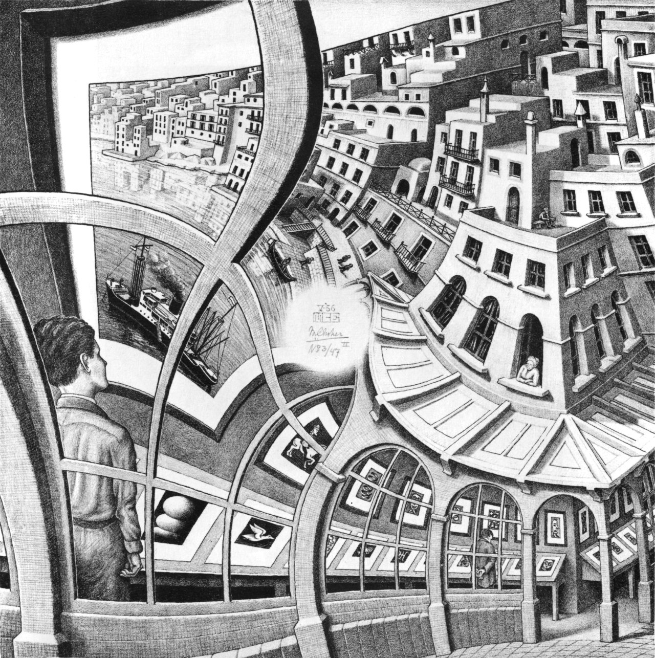 Escher Like Artists Escher-like