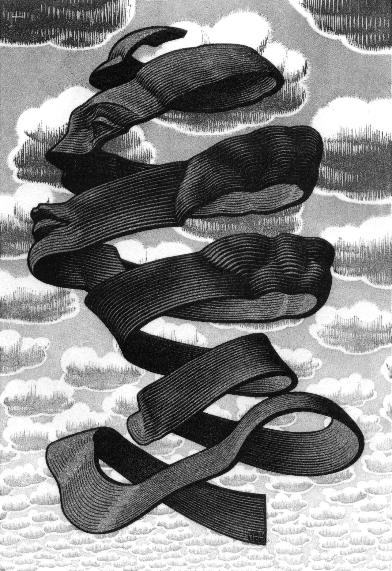 Rind 1955 m c escher for Escher metamorfosi