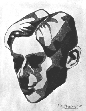 Self Portrait, 1918 - M.C. Escher