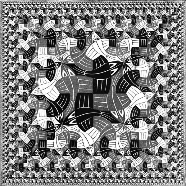 Square Limit, 1964 - M.C. Escher