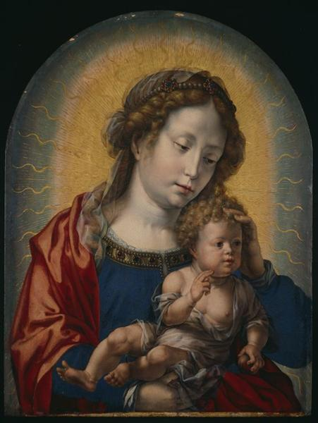 Virgin and Child, c.1525 - Mabuse