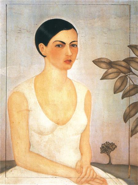 Portrait of Cristina My Sister, 1928 - Frida Kahlo