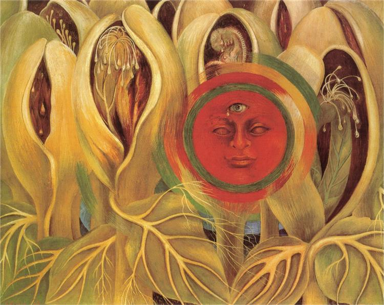 Sun and Life, 1947 - Frida Kahlo