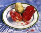 Tunas (Still Life with Prickly Pear Fruit) - Frida Kahlo