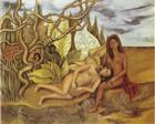 Two Nudes in the Forest (The Earth Itself) - Frida Kahlo