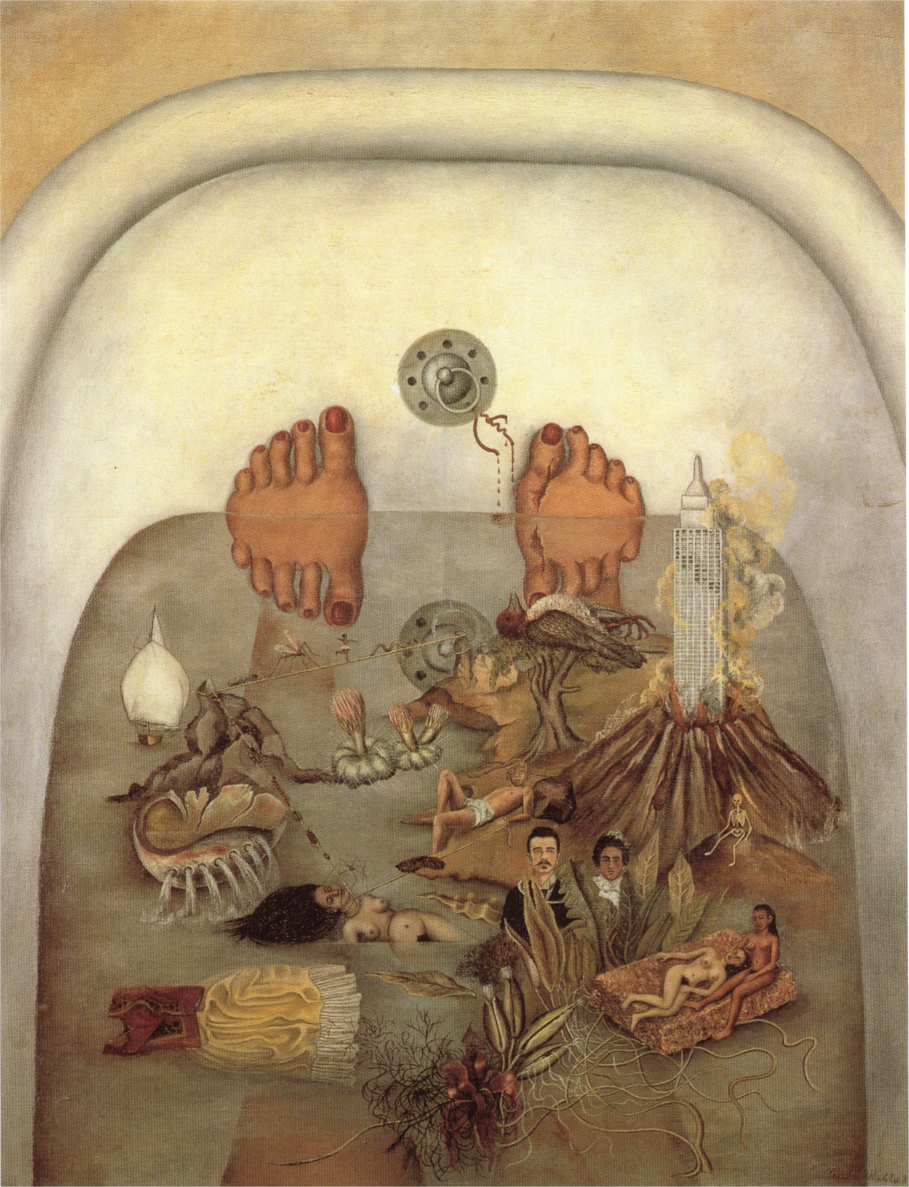 frida kahlo what the water gave me