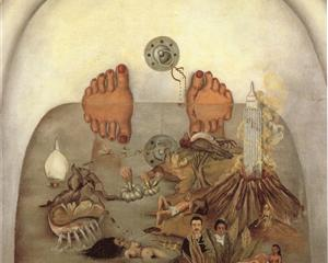 What the Water Gave Me - Frida Kahlo
