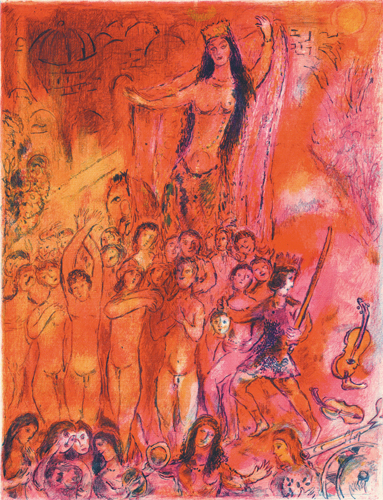 They were in forty pairs..., 1948 - Marc Chagall
