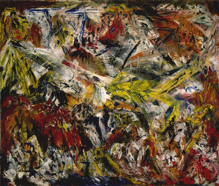 Le tumulte à la mâchoire crispée, 1946 - Marcel Barbeau