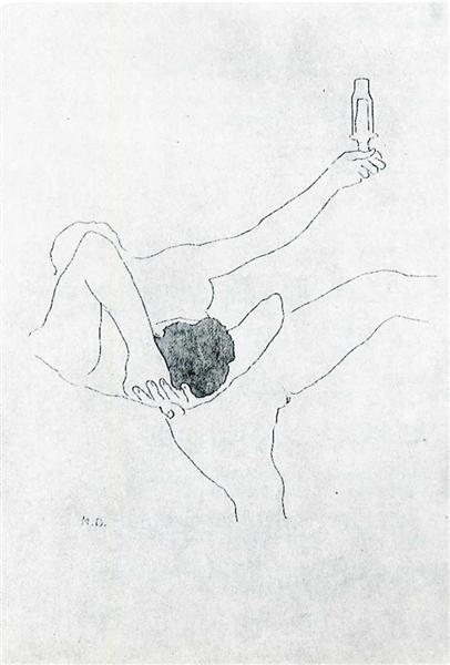 The Bec Auer, 1967 - Marcel Duchamp