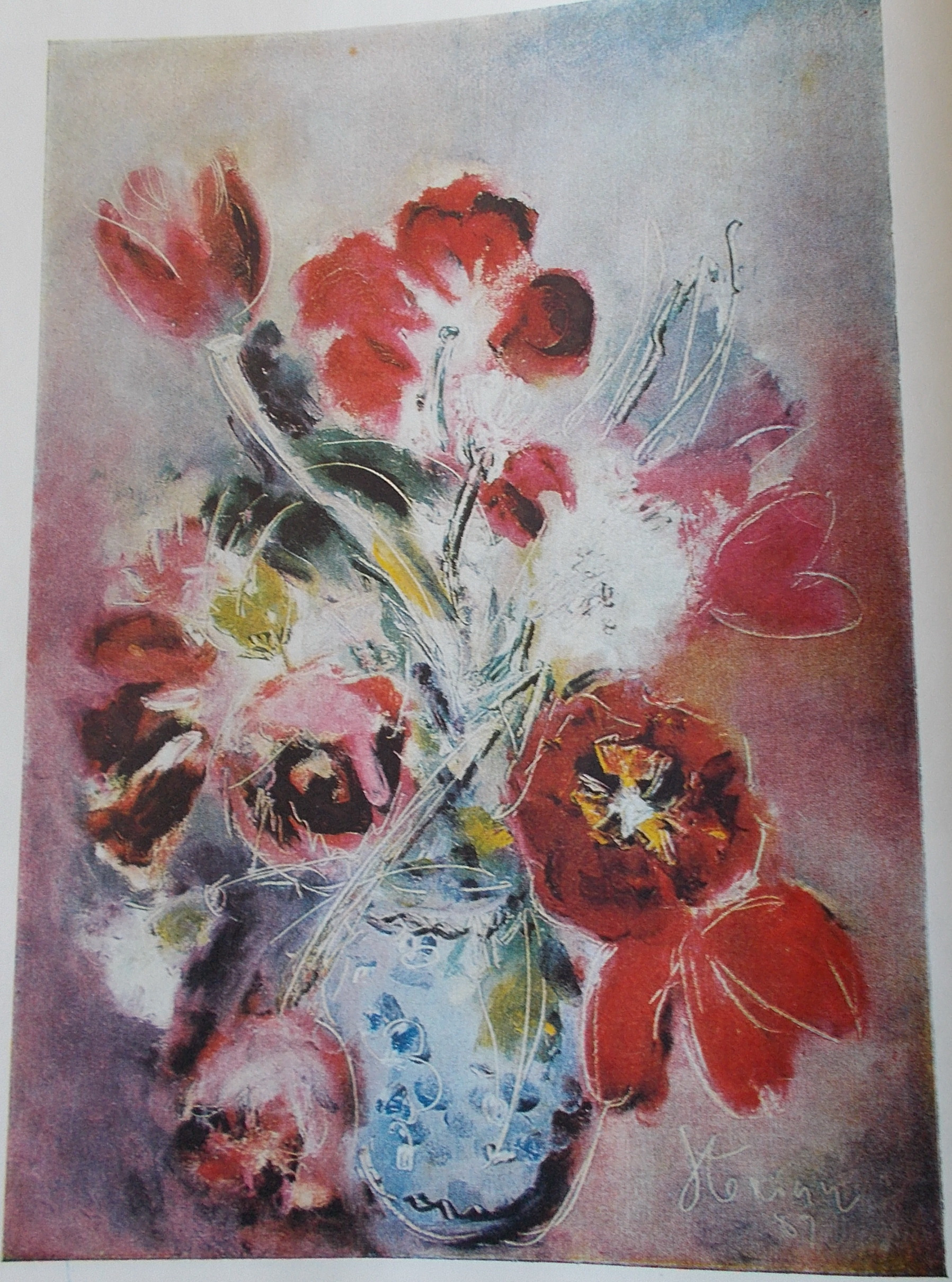 Anxious Flowers Margareta Sterian WikiArt encyclopedia of visual arts