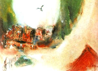 Mountain Hamlet - Margareta Sterian