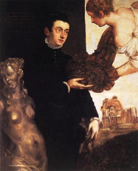 Portrait of Ottavio Strada (attributed), 1568 - Marietta Robusti