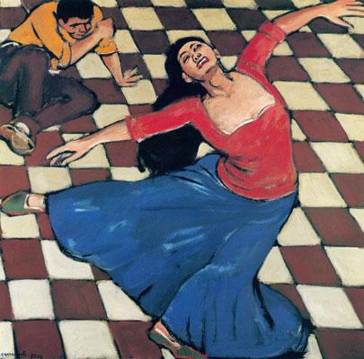 Die Tänzerin - Mario Comensoli
