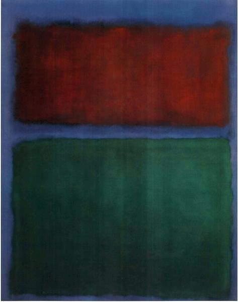 Earth & Green, 1955 - Mark Rothko
