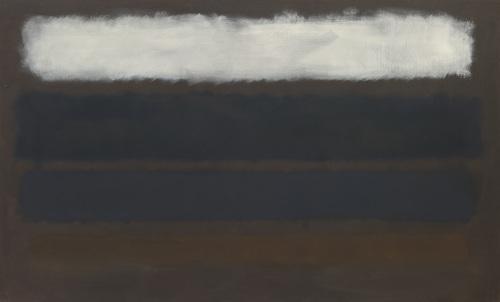No. 14 (Horizontals, White over Darks), 1961 - Mark Rothko