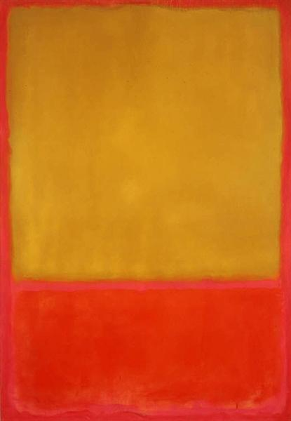 Ochre and Red on Red, 1954 - Mark Rothko