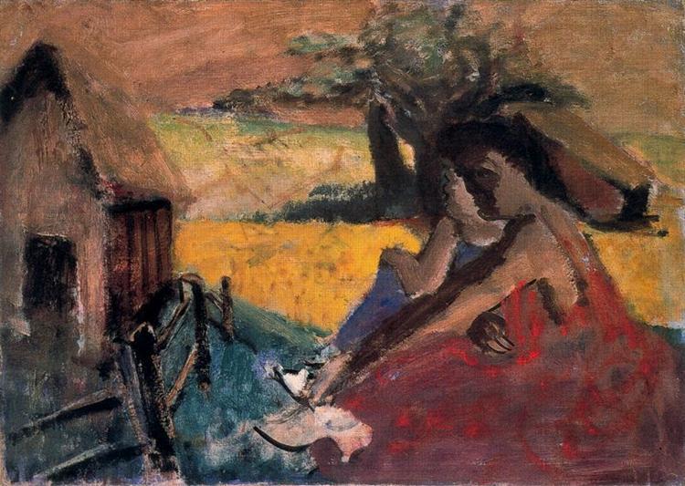 Rural Scene, 1936 - Mark Rothko