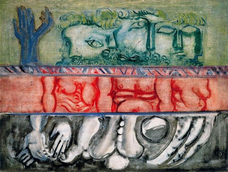 Untitled, 1942 - Mark Rothko
