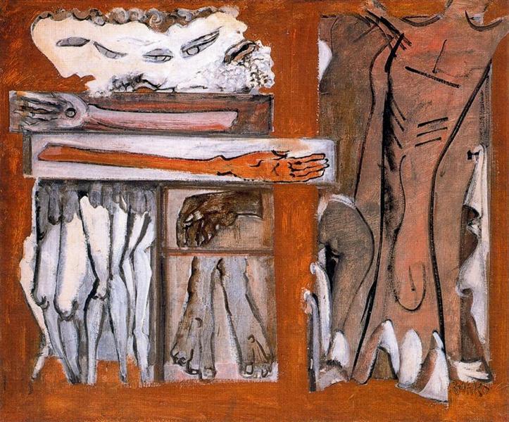 Untitled, 1942 - Марк Ротко