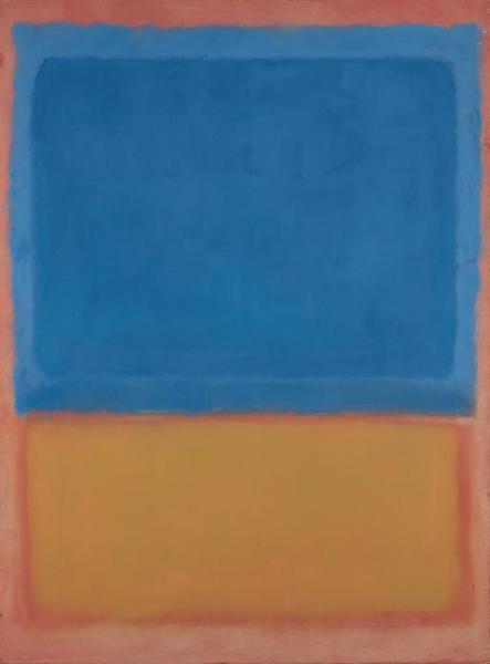 Untitled (Red, Blue, Orange), 1955 - Mark Rothko