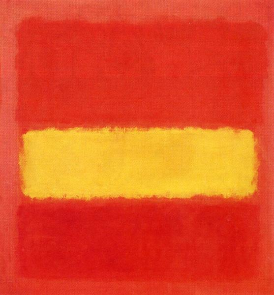 Yellow band, 1956 - Mark Rothko