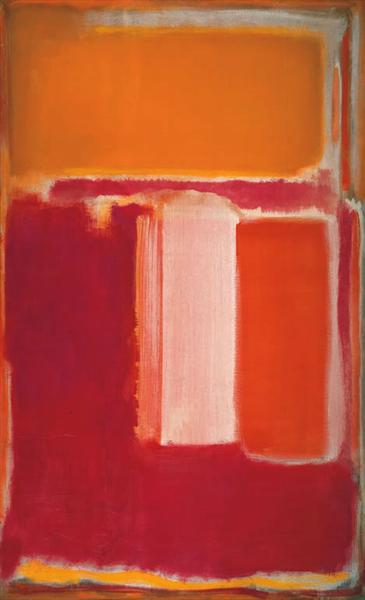 Yellow, Cherry, Orange - Mark Rothko
