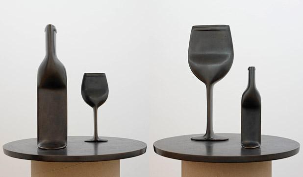Gross und Klein, 1993 - Markus Raetz