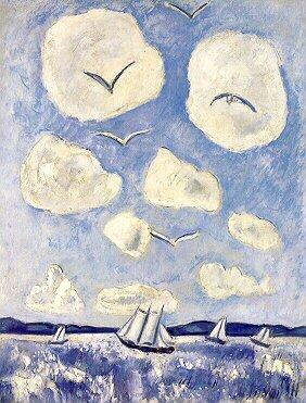 Birds of the Bagaduce, 1939 - Marsden Hartley