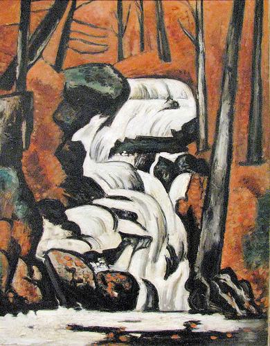 Smelt Brook Falls - Marsden Hartley