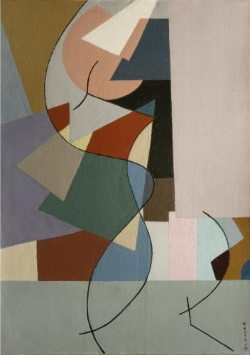 Abstraccion No. 3, 1953 - Martha Boto