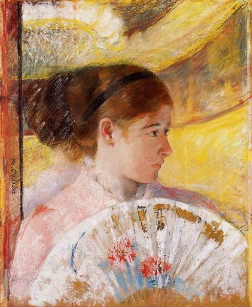 At the Theater, 1878 - 1879 - Mary Cassatt