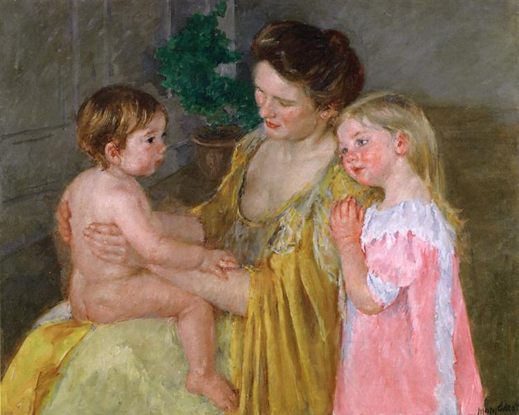 Mother and Two Children, 1906 - Mary Cassatt