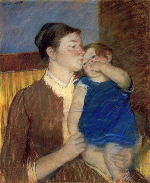 Mother s Goodnight Kiss, 1888 - Mary Cassatt