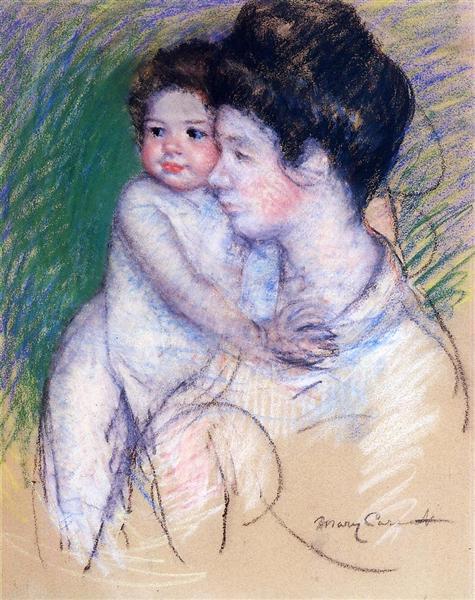 Motherhood, c.1902 - Mary Cassatt