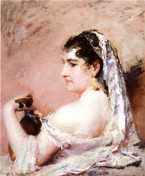Roman Girl - Mary Cassatt