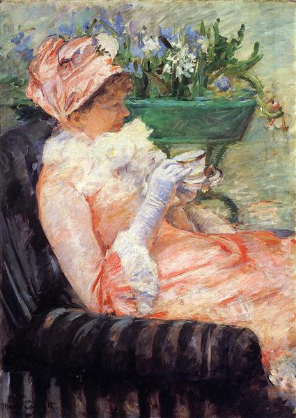 The Cup of Tea, c.1879 - Mary Cassatt