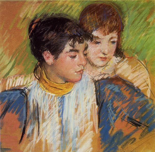The Two Sisters, 1893 - 1894 - Mary Cassatt