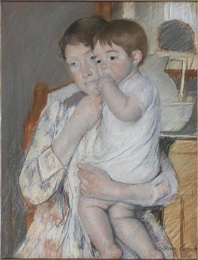 Women and child, 1889 - Mary Cassatt