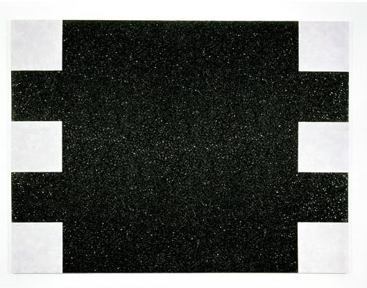 Black Light Painting (Glitter Series), 1975 - Mary Corse