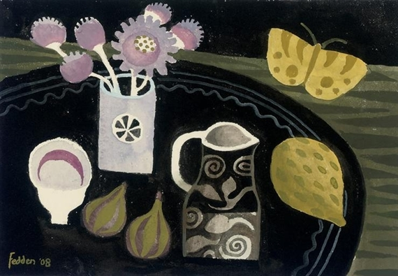 Yellow Butterfly, 2008 - Mary Fedden