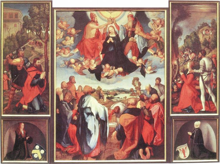 Heller Altarpiece, 1507 - 1509 - Matthias Grünewald