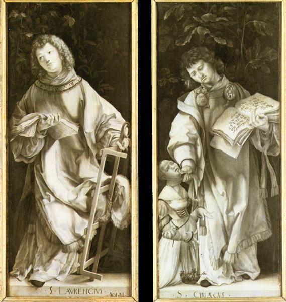 St. Lawrence and St. Cyricus, 1509 - 1511 - Matthias Grünewald