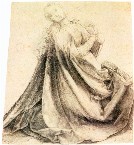 Virgin of the Annunciation, 1512 - 1514 - Matthias Grünewald