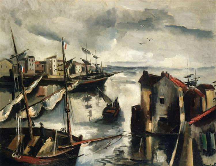 Fishing Port, 1911 - Maurice de Vlaminck