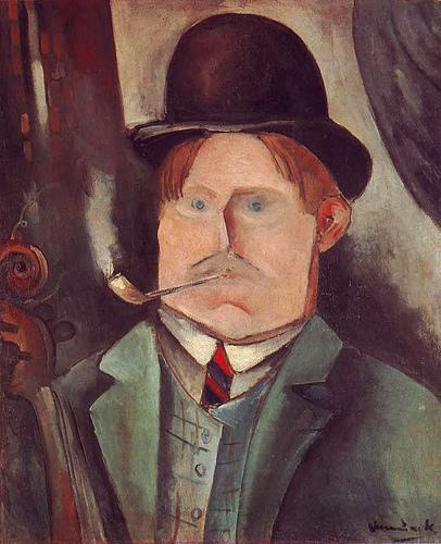 Self Portrait - Maurice de Vlaminck