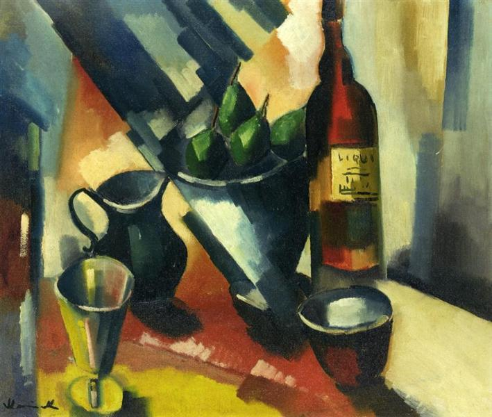 Still Life with Pears, c.1910 - 莫里斯·德·弗拉芒克