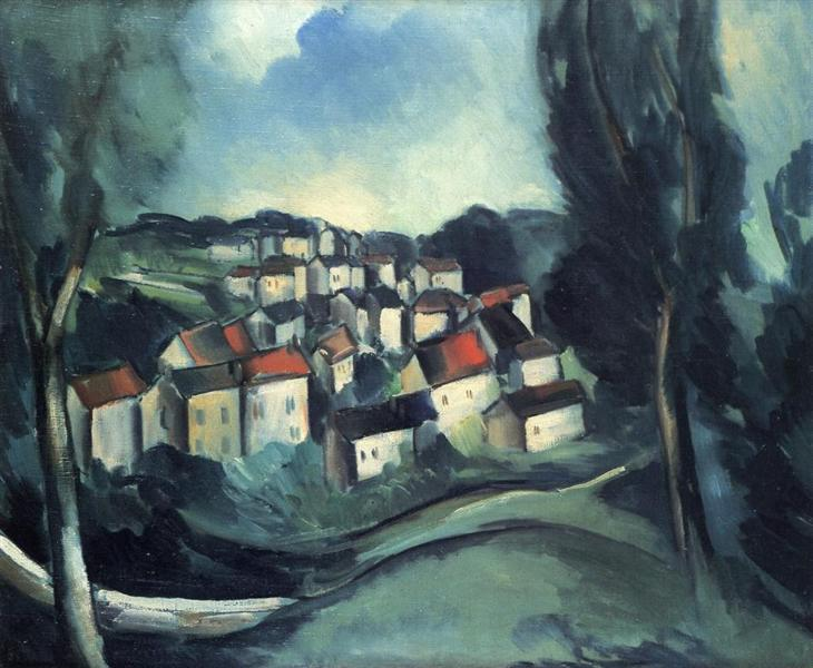 The Beautiful Village, 1911 - Maurice de Vlaminck