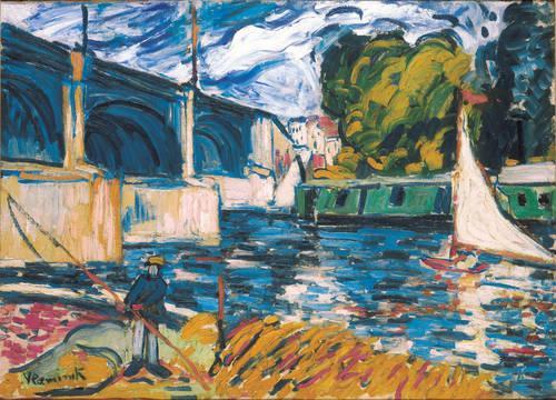 The Chatou Bridge, 1907 - Maurice de Vlaminck