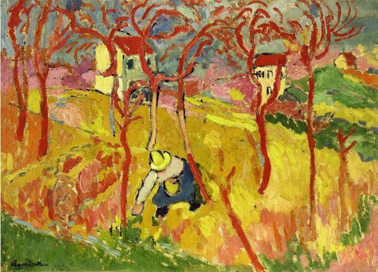 The Gardener, 1904 - Maurice de Vlaminck